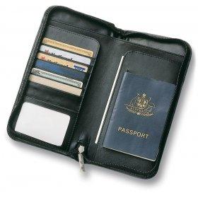 Leather Zip Wallet 2280