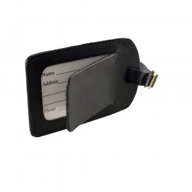 Leather Luggage Tag 7720