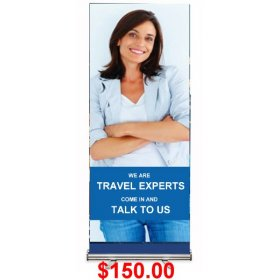Pull-Up Banner Silver